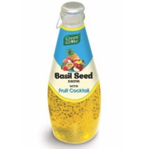 Basil Seed Fruit Cocktail Drink 290ml