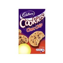 Cadbury Chocolate Chip Cookies 150g