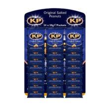 Kp Peanut Cards Salted 24x50g
