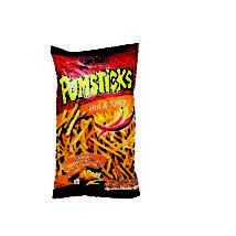 Lorenz Pomsticks Hot & Spicy 100g