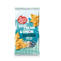 Poco Loco Sour Cream & Onion Tortillia Chips 450g