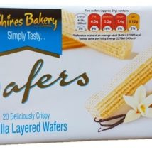 Shires Wafers Vanilla 200g