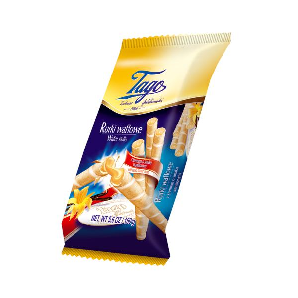 Tago Wafer Rolls Vanilla 280g