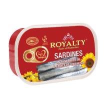 Royalty Sardines 125g