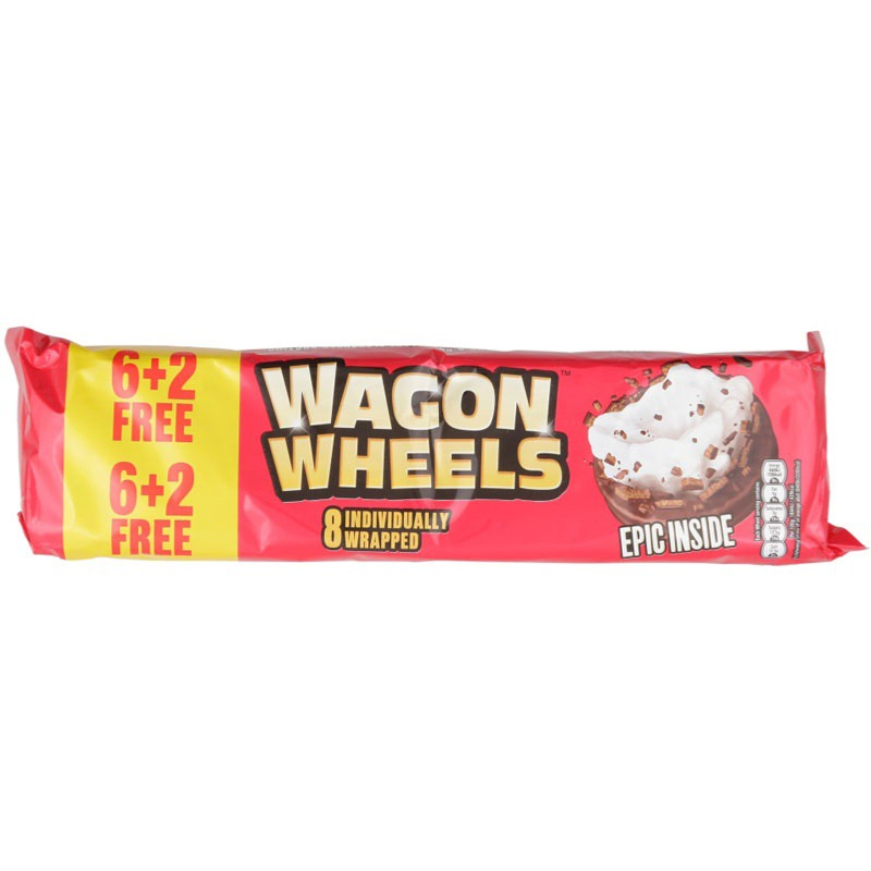 Wagon Wheel Jammie 8pk