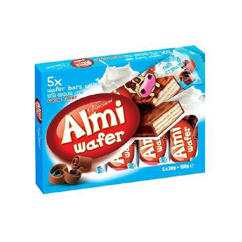 Vincinni Almi Milk Wafers 5pk
