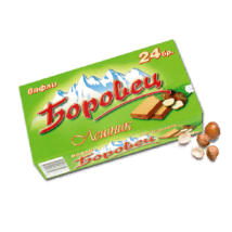 Borovets Wafer Hazelnut 550g