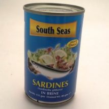 South Sea Jitney Sardines In Brine 155g
