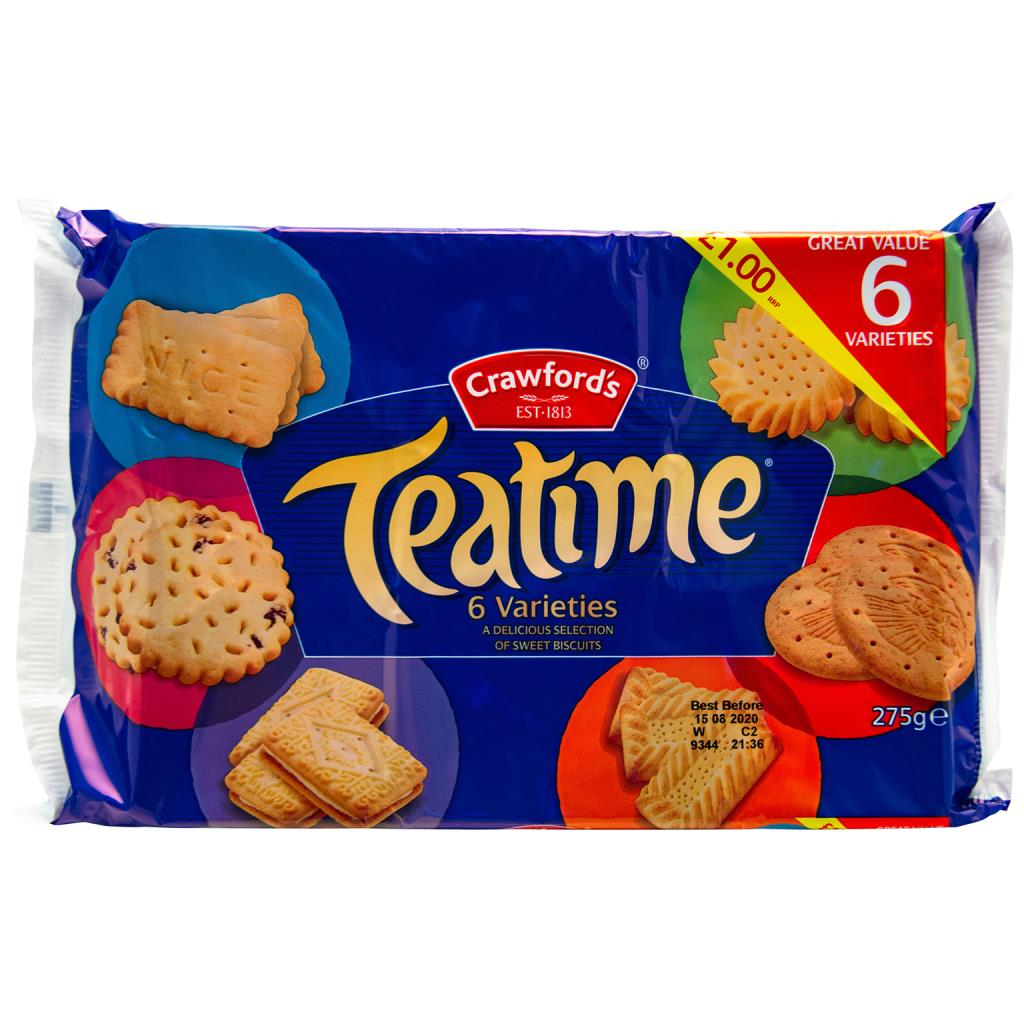 Teatime Assorted Biscuits 275g