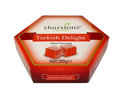 Thurstons Turkish Delight Rose  250g