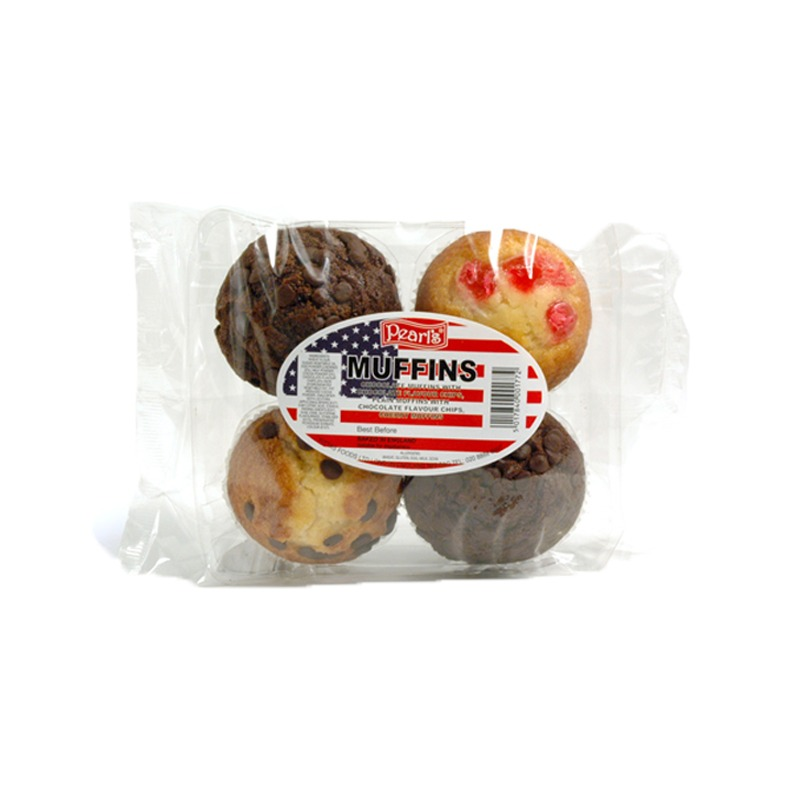 4 Pack Muffins Mix