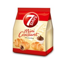 7 Days Mini Croissant Bags Chocolate 185g