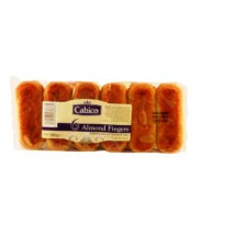 Cabico 6 Almond Fingers 280g