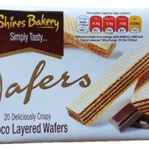 Shires Wafers Chocolate 200g