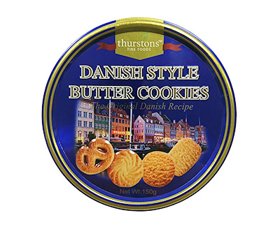 Thurstons Danish Style Cookies Tin