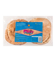 Leicester Bakery Round Pitta Pocket Bread