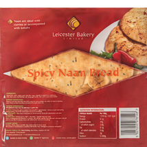 Leicester Bakery Spicy Naan Bread 4 pack