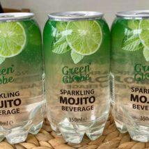 Green Globe Sparkling Beverage Mojito 350mlx24