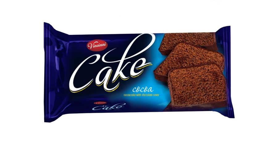Vincinni Cocoa foil cake 400g